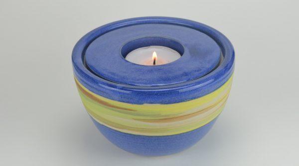 Tierurne-blau