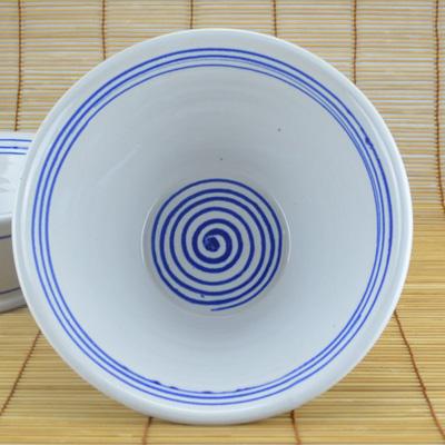 Weitling, weiß mit blauem Dekor